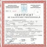 certificat cosar